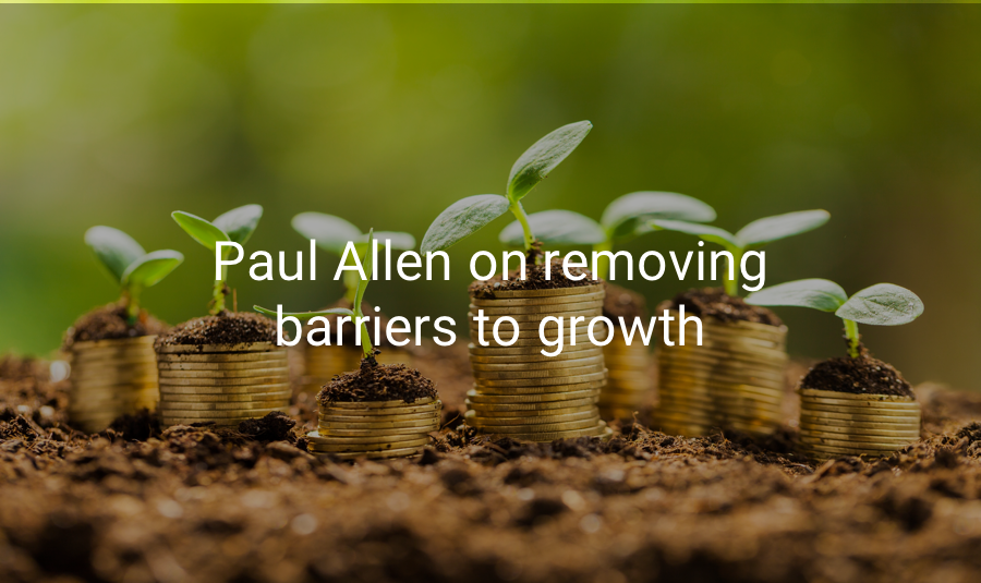 Watch Paul Allen discuss removing barriers to growth