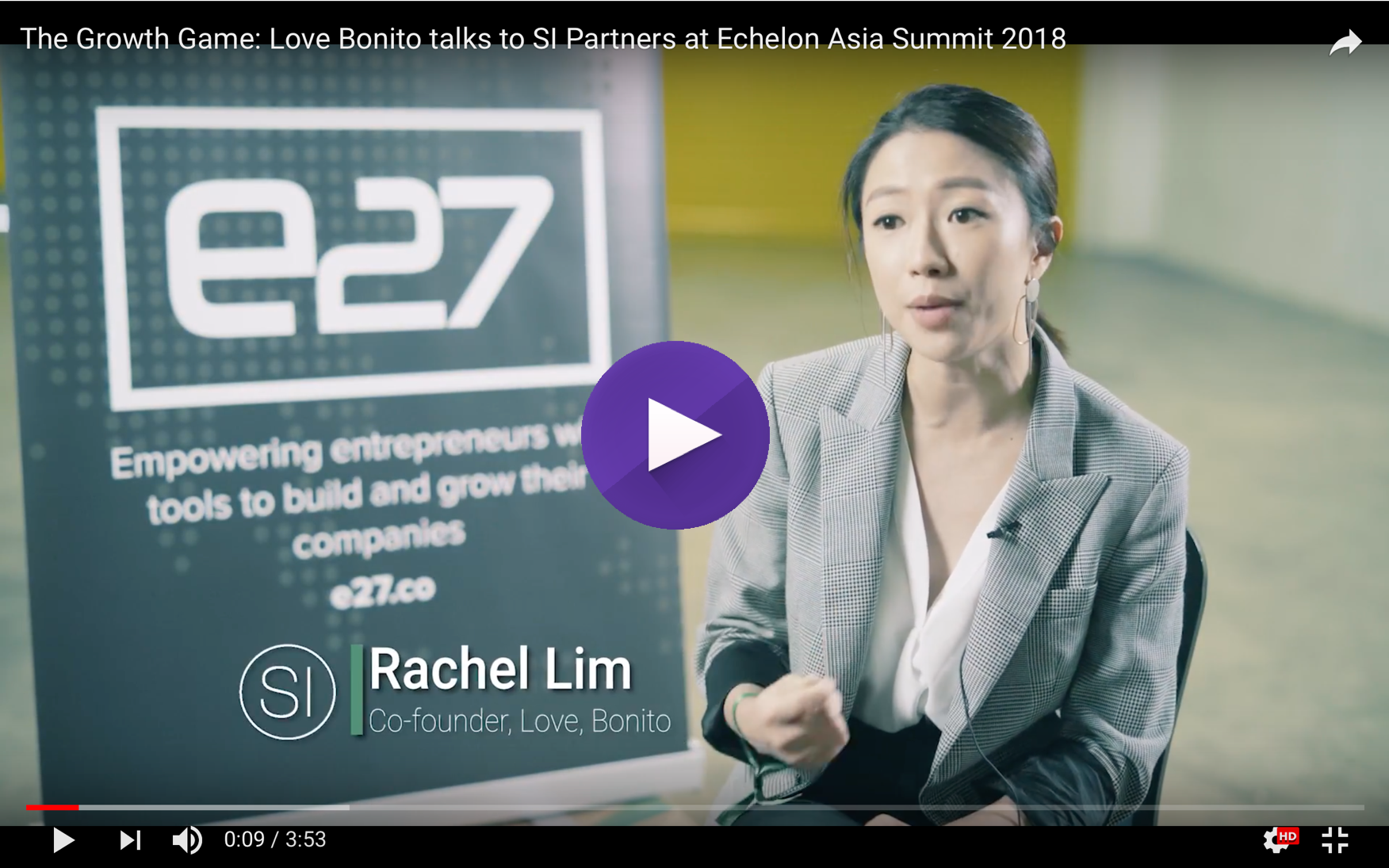 Watch: The Growth Game- Rachel Lim