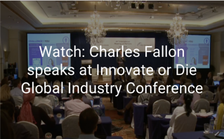 Charles Fallon speaks at Innovate or Die Conference