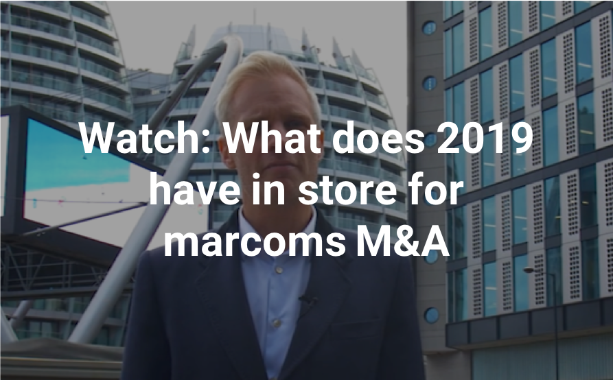 Watch SI Partners' latest update: What does 2019 have in store for Marcoms M&A?
