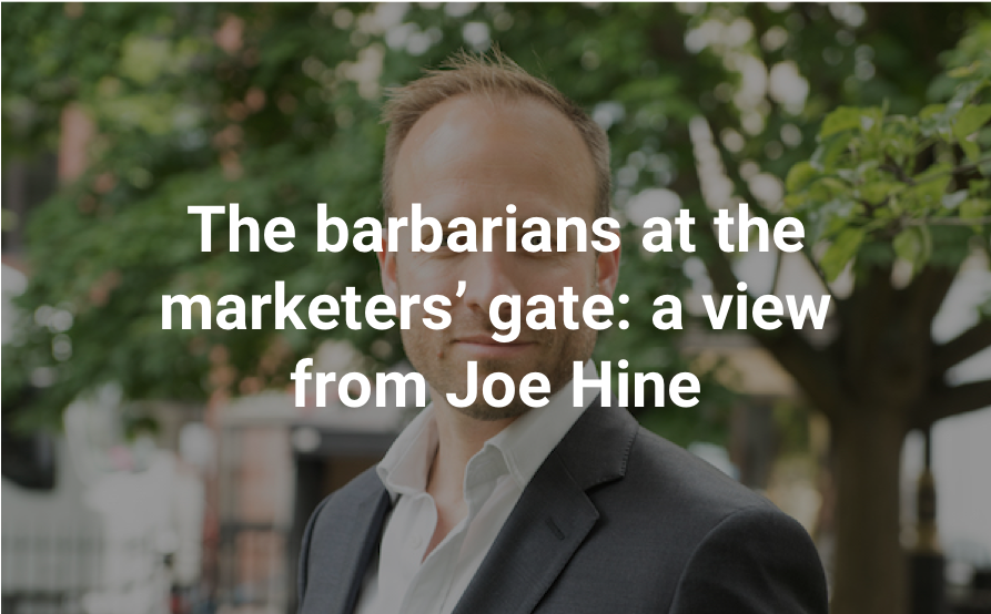 Read The Barbarians at the Marketers Gate