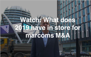 Watch SI Partners' latest update: What does 2019 have in store for Marcoms M&A