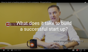 Steve Melhuish, co founder of PropertyGuru shares the highs and lows of starting his business.