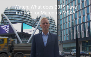 What does 2019 have in store for marcoms M&A