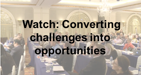 Watch: converting challenges into opportunities